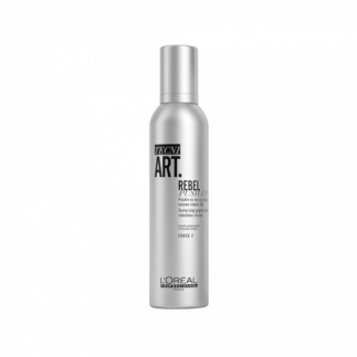 Spuma-pudra pentru volum si textura Loreal Professionnel Tecni Art Rebel Push-Up 250 ml