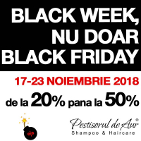 Black week, nu doar black Friday!