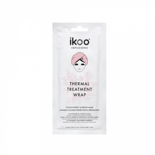 Masca de par termala pentru par vopsit IKOO Thermal Treatment Wrap Color Protect And Repair Mask