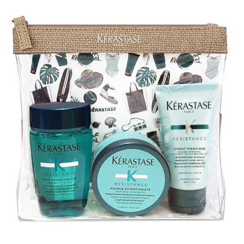 Set de calatorie pentru par lung Kerastase Extentioniste Travel Set