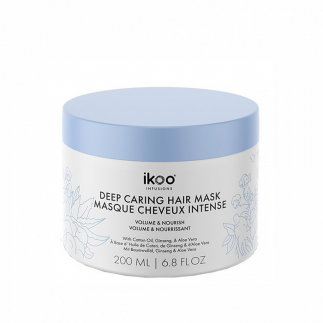 Masca hranitoare pentru volum 200 ml IKOO Deep Caring Mask Volume and Nourish