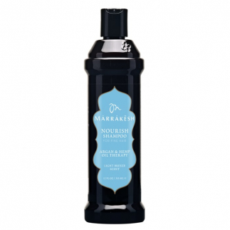 Sampon nutritiv cu ulei de canepa si argan pentru par fin 355 ml Marrakesh Nourish Light Breeze