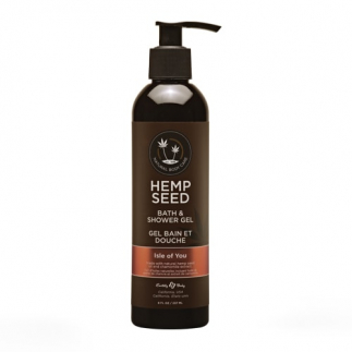 Gel de dus fara parabeni si sulfati Isle of you Hemp Seed 237ml