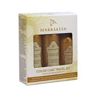 Set de calatorie pentru par vopsit Marrakesh Color Care Travel Set