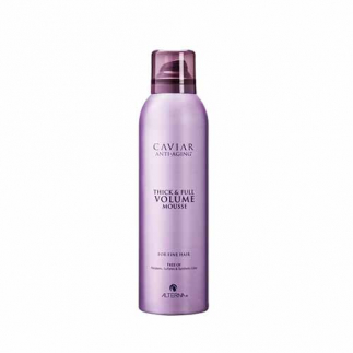 Spuma de par pentru volum Alterna Caviar Anti-Aging Thick & Volume Mousse 236ml