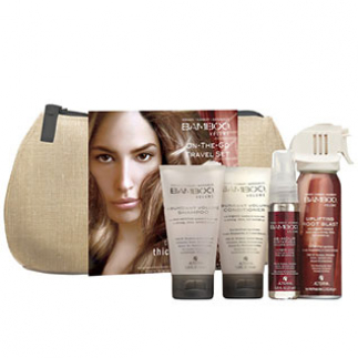 Set pentru par cu volum Alterna Bamboo Volume Travel Set