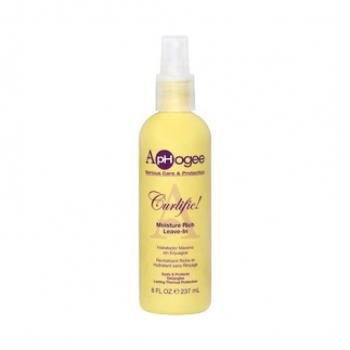Spray pentru protectie termica ApHogee Curlific! Moisture Rich Leave-in 237 ml