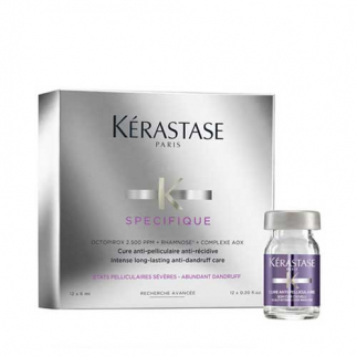 Tratatament antimatreata Kerastase Specifique Cure Anti-Pelliculaire 12 fiole x 6ml