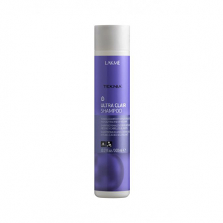 Sampon nuantator pentru par blond sau grizonat Lakme Ultra Clair 300ml