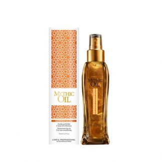 Ulei spray pentru par si corp Loreal Professionnel Mythic Oil Shimmering Oil 100 ml