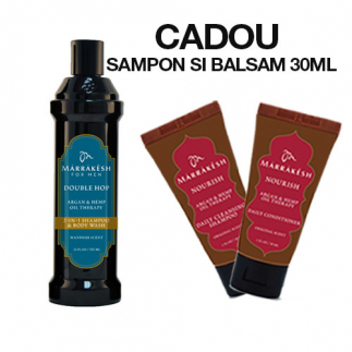 Sampon si gel de dus pentru barbati Marrakesh Men's Double Hop 2 in 1 355ml