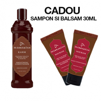 Balsam pentru par rebel Marrakesh Kahm Smoothing Conditioner 355ml