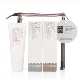 Set pentru scalp sensibil Philip Kingsley No Scent No Colour Jet Set